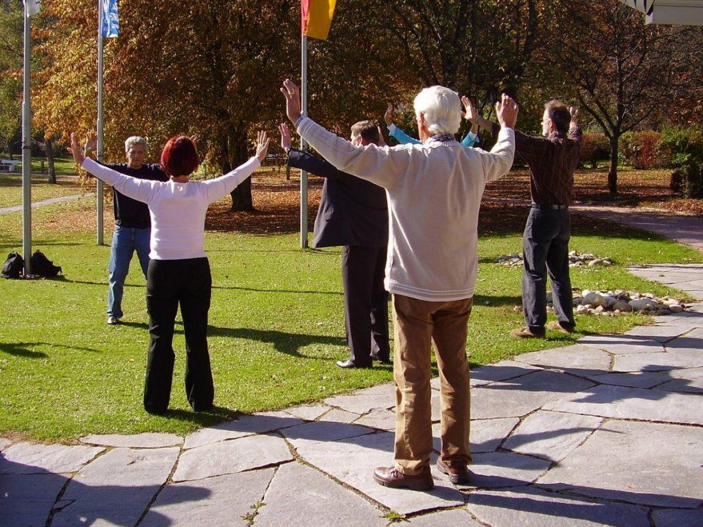 Gimnastyka zdrowotna dla seniorów