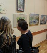 Wernisaż wystawy prac Stowarzyszenia Marynistów Polskich