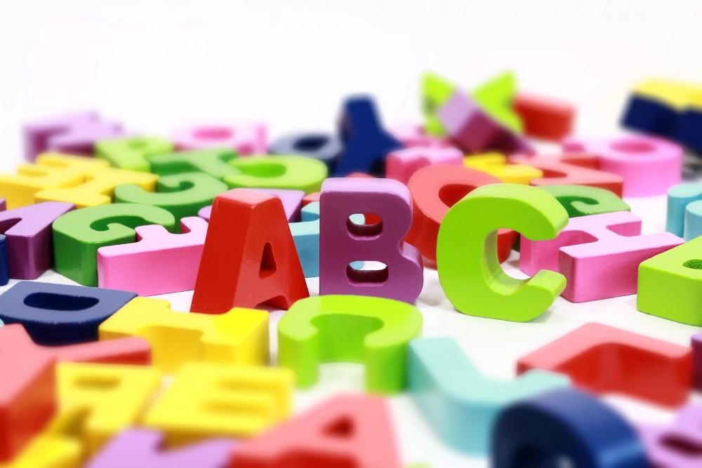 Plastyczny alfabet