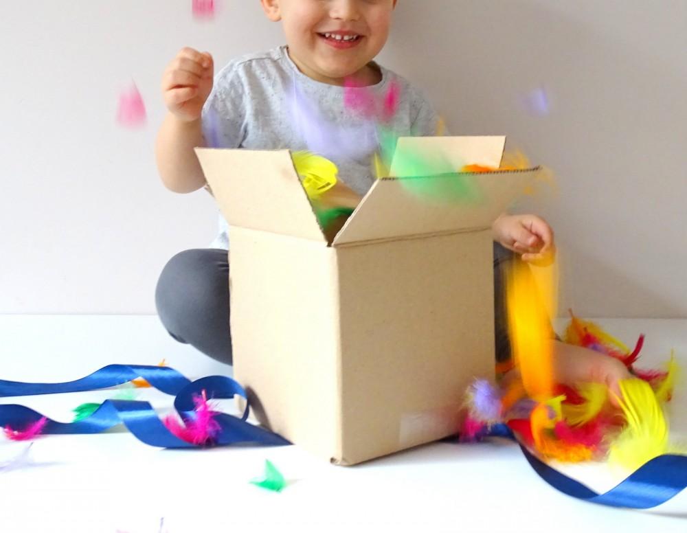 Pudełko z niespodzianką (12-24 m-c)