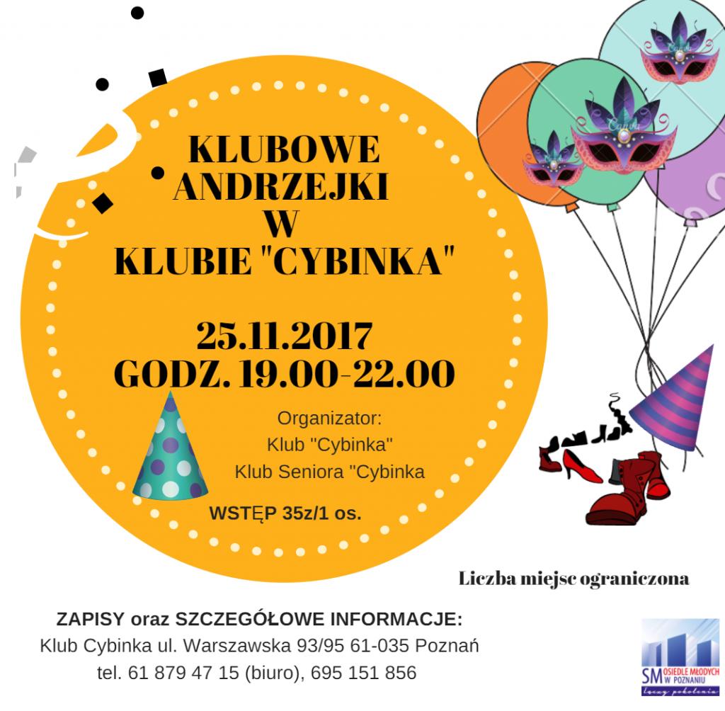 Klubowe Andrzejki w Cybince
