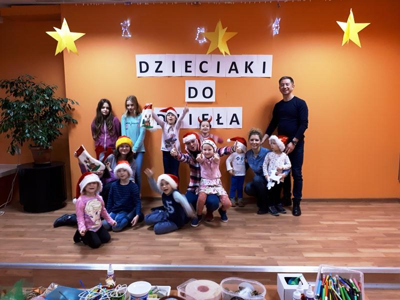 Dzieciaki do dzieła! – świąteczne warsztaty plastyczne