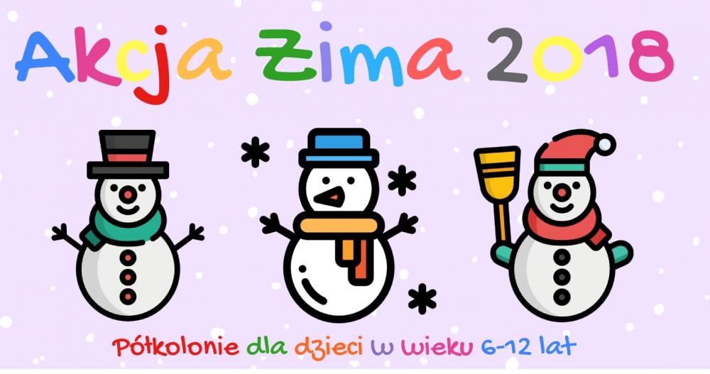 Akcja Zima 2018 – rozpoczynamy zapisy!