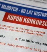 """Konkurs wiedzy – """"Osiedle Młodych – 60 lat historii"""""""