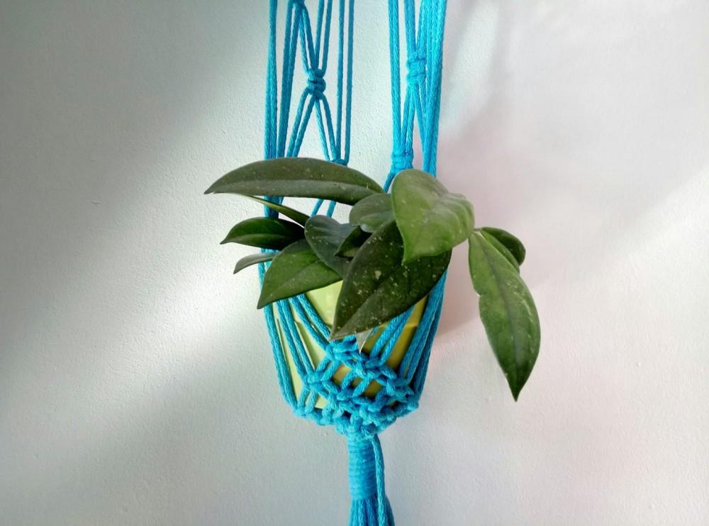Warsztaty makramy – stwórz własną ozdobę na doniczkę