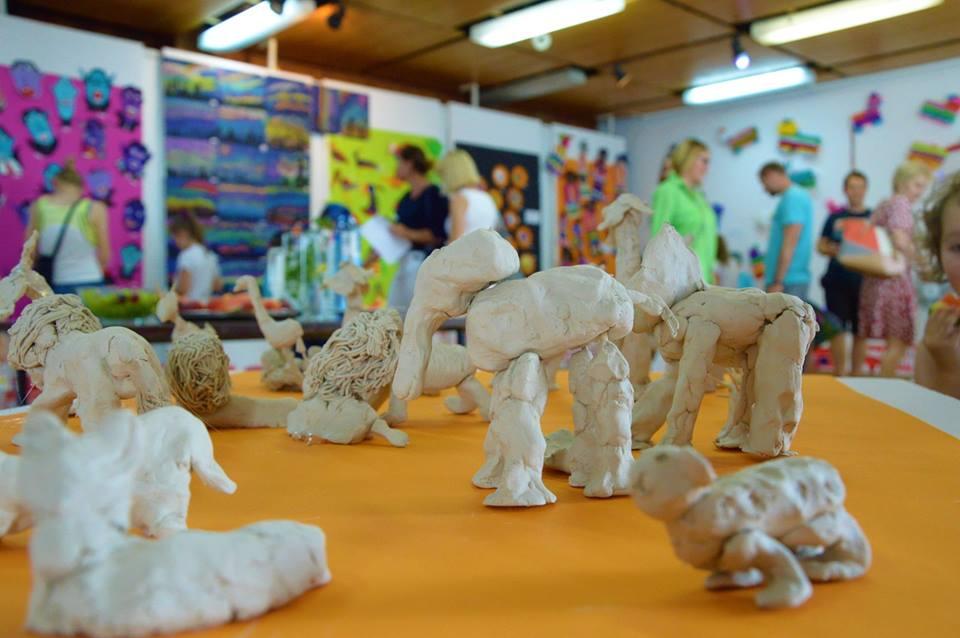 Wystawa Dziecięcej Pracowni STUKA MIESZKA