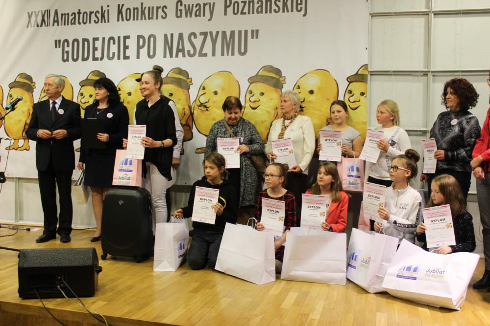 """XXXII Amatorski Konkurs Gwary Poznańskiej """"Godejcie po naszymu"""""""
