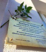 Krystyna Feldman – na zawsze w naszej pamięci!