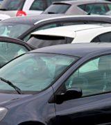 Wolne miejsca na parkingach na os. Stare Żegrze i os. Orła Białego
