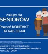 Poznań pomaga Seniorom podczas epidemii