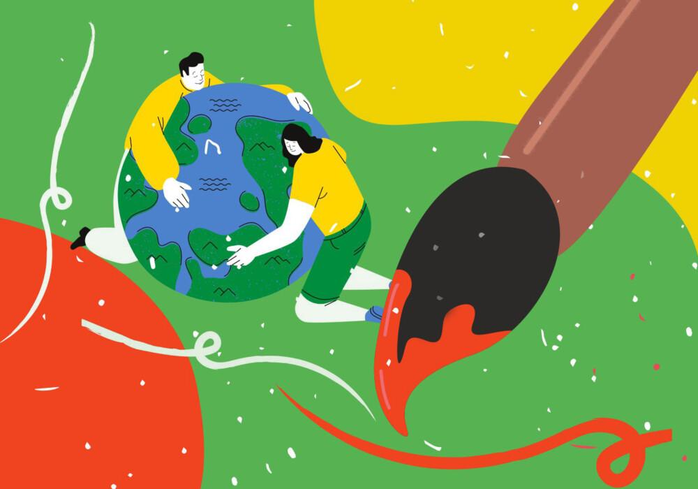 EKO JA – EKO ŚWIAT – konkurs plastyczny na plakat